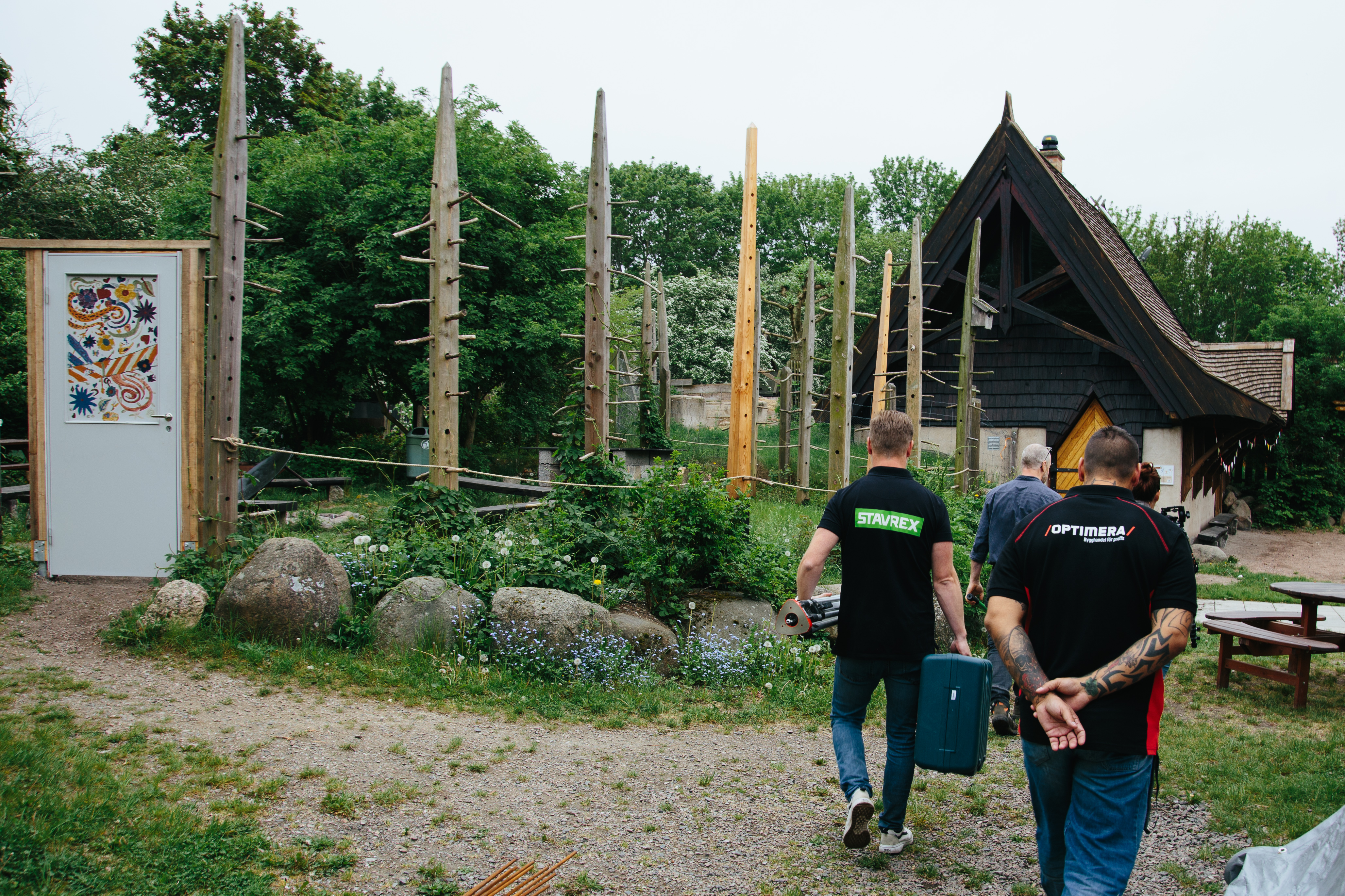 optimera och stavrex besöker markskruvsprojekt i lund