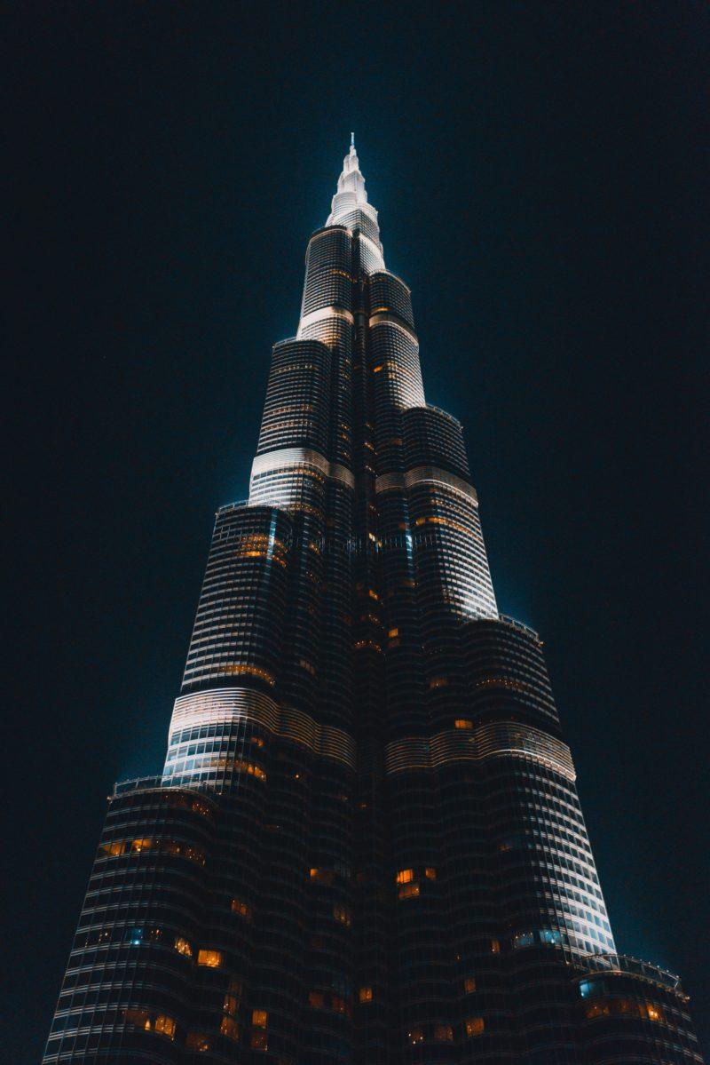 Burj Khalifa - Mäktiga byggnadsverk