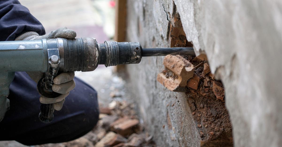 Dåliga vibrationer risk för byggare.