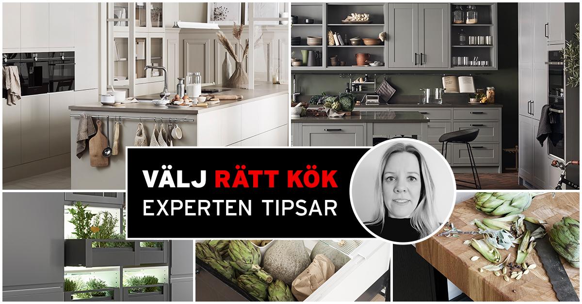 Trender för kök - experten från marbodal tipsar om tidlösa och moderna kök.
