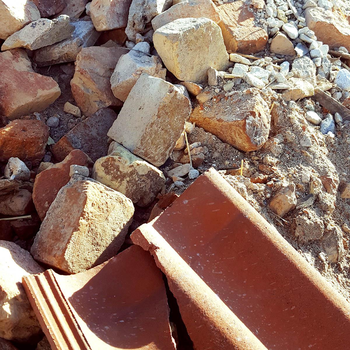 begagnade tegelstenar skåne