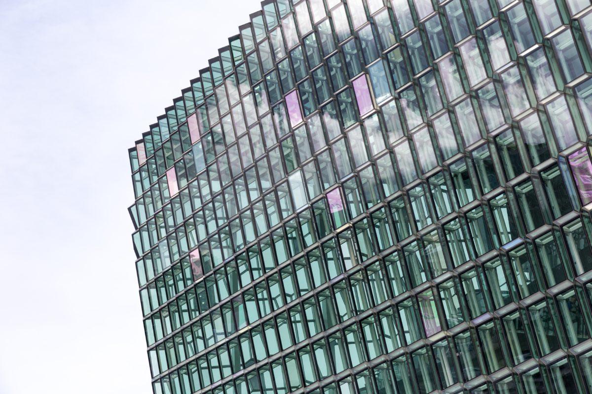 Harpa Island Reykjavik - Mäktigaste byggnaderna i världen