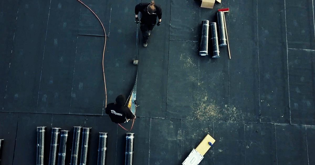 Drönare erbjuder byggare ökad säkerhet