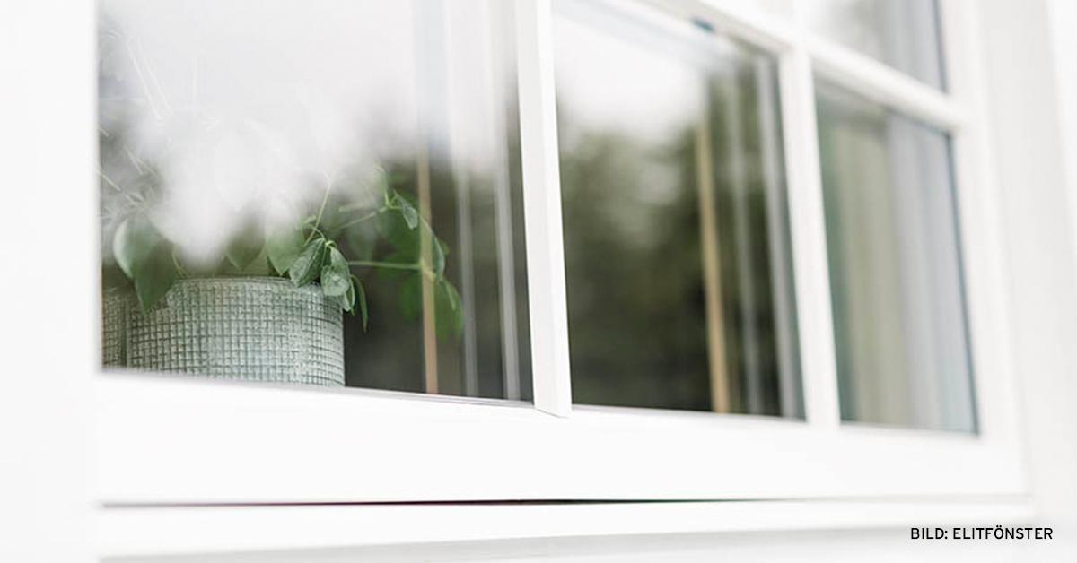 med rätt fönster kan du minska energiförbrukningen
